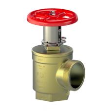 Giacomini Brass Pressure Restricting Angle Valve, Fig. A156, FxM, UL/FM