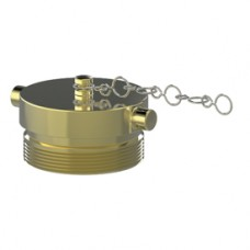 "Giacomini A81 Brass Plug and Chain, 2-1/2"""