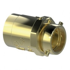 Giacomini A90C Brass Female Check Snoots, UL/FM Approved