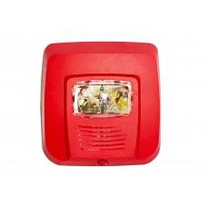 System Sensor (FDAS) Wall Mounted Fire Alarm Speaker w/Strobe SPSR