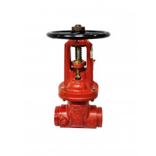 Kennedy OS&Y Gate Valve, Fig. 7093A 200 PSI, Grooved Type, Ductile Iron Body UL/FM