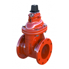 Kennedy Non-rising Gate Valve, w/ handwheel, Fig. 8561, 200 PSI, Flanged Type, Cast Iron Body