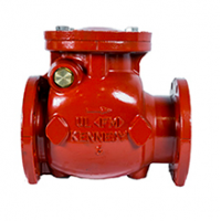 Kennedy Swing Check Valve, Fig.1126A, 175 PSI, Flanged Type, Cast Iron Body UL/FM