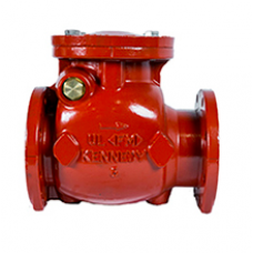 Kennedy Swing Check Valve, Fig.1126A, 175 PSI, Flanged Type, Cast Iron Body