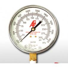 AGF Pressure Gauge, Model 7500, 0-300 PSI,  UL/FM Approved